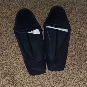 Ladies Blue Driving Loafers